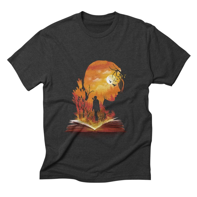 Book of Dystopia Men's Triblend T-Shirt by dandingeroz's Artist Shop
