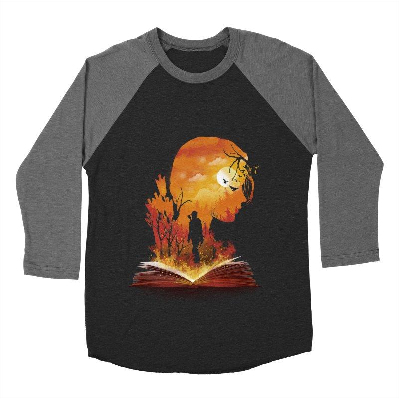 Book of Dystopia Women's Baseball Triblend T-Shirt by dandingeroz's Artist Shop