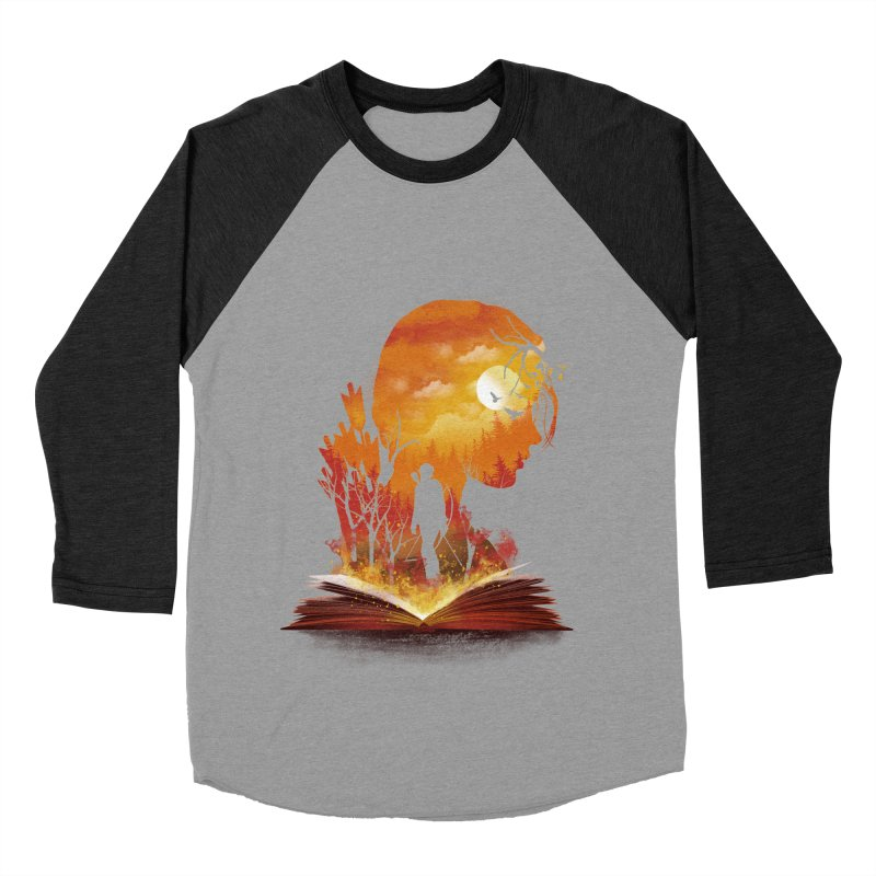 Book of Dystopia Women's Baseball Triblend Longsleeve T-Shirt by dandingeroz's Artist Shop