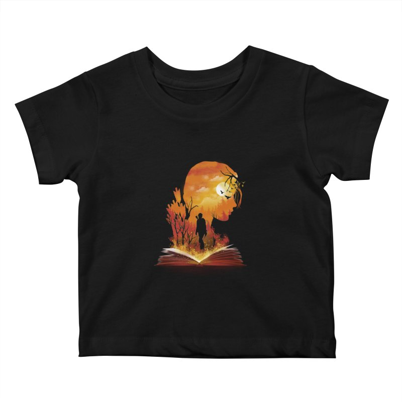Book of Dystopia Kids Baby T-Shirt by dandingeroz's Artist Shop
