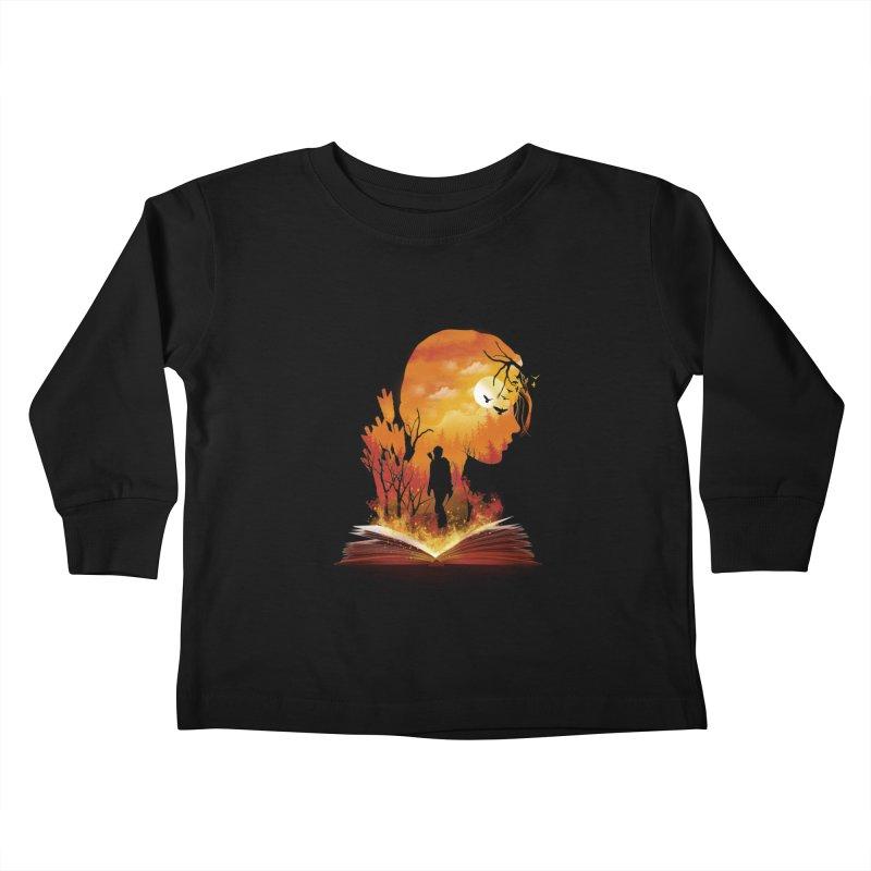 Book of Dystopia Kids Toddler Longsleeve T-Shirt by dandingeroz's Artist Shop
