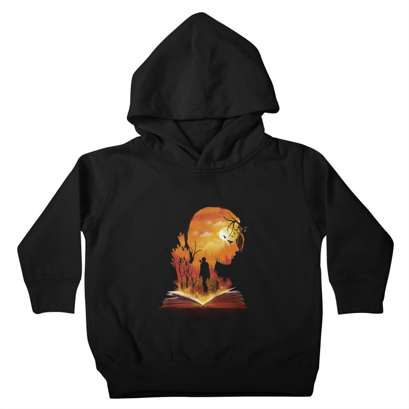 Book of Dystopia Kids Toddler Pullover Hoody by dandingeroz's Artist Shop