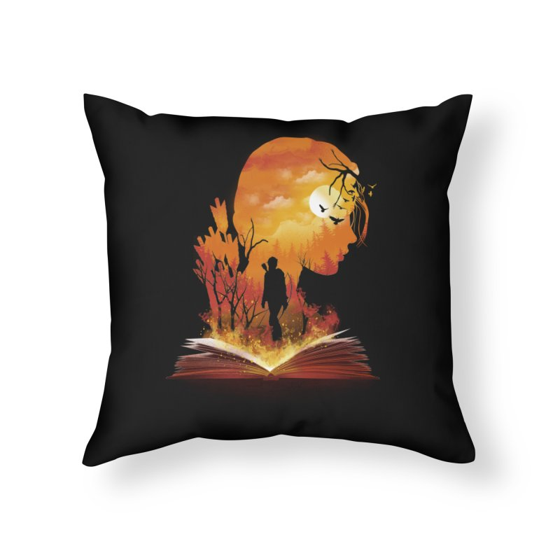 Book of Dystopia Home Throw Pillow by dandingeroz's Artist Shop