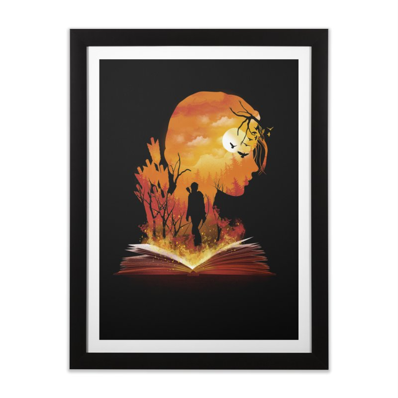 Book of Dystopia Home Framed Fine Art Print by dandingeroz's Artist Shop