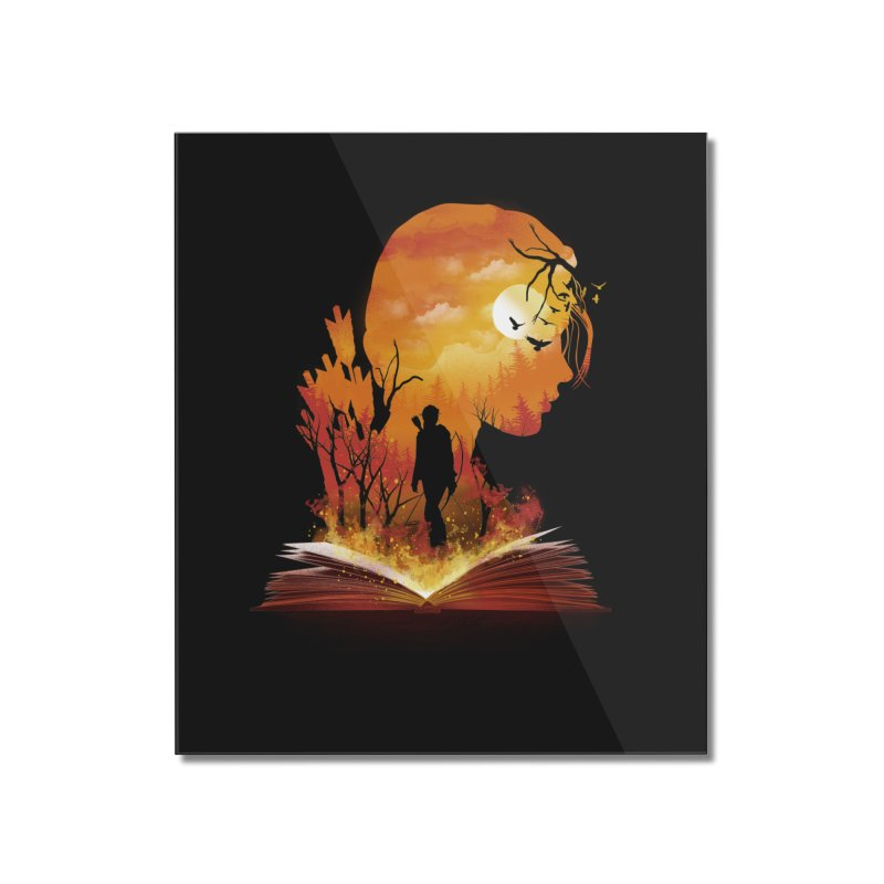 Book of Dystopia Home Mounted Acrylic Print by dandingeroz's Artist Shop