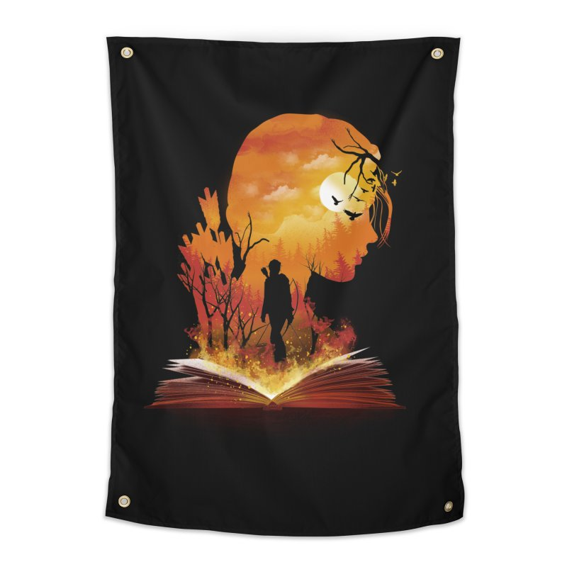 Book of Dystopia Home Tapestry by dandingeroz's Artist Shop