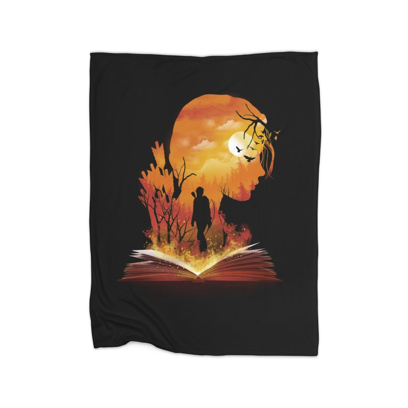 Book of Dystopia Home Blanket by dandingeroz's Artist Shop
