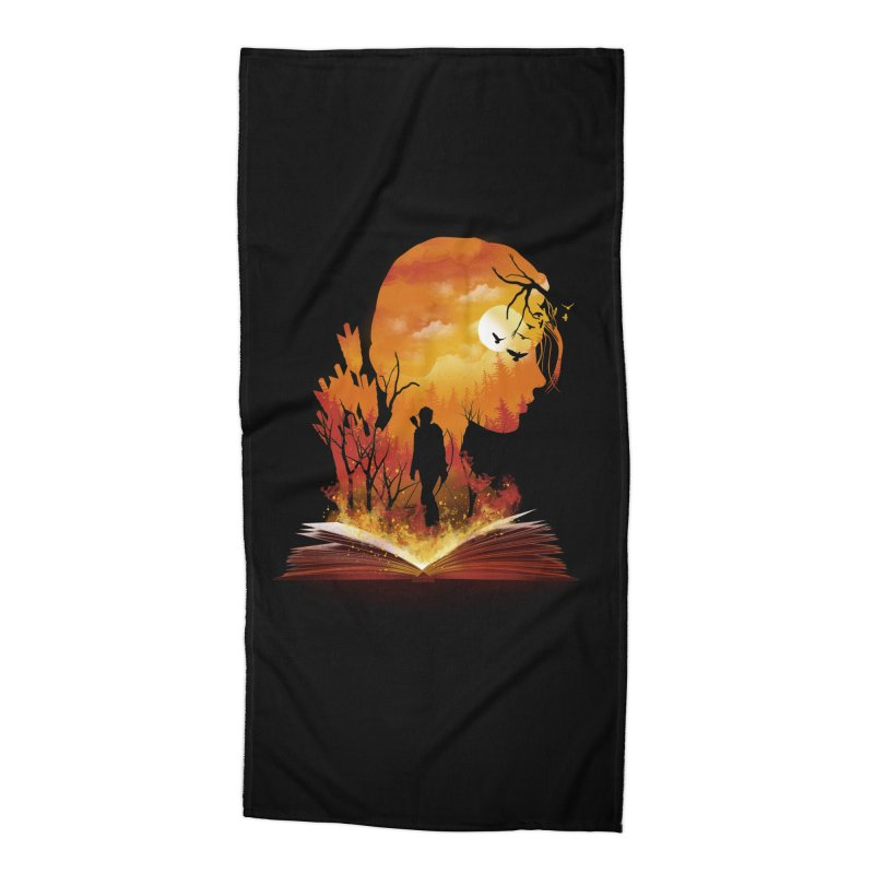 Book of Dystopia Accessories Beach Towel by dandingeroz's Artist Shop