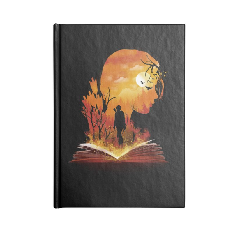 Book of Dystopia Accessories Notebook by dandingeroz's Artist Shop
