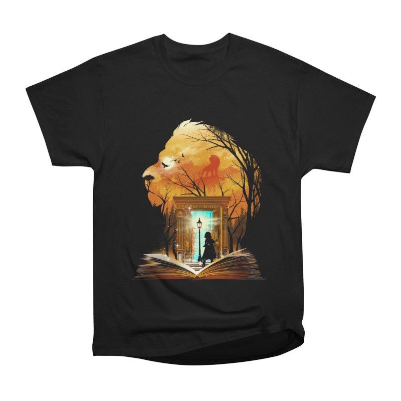 Courage Dear Heart Men's Heavyweight T-Shirt by dandingeroz's Artist Shop