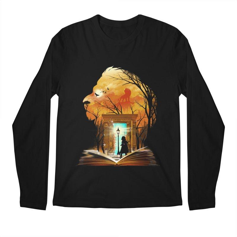 Courage Dear Heart Men's Longsleeve T-Shirt by dandingeroz's Artist Shop