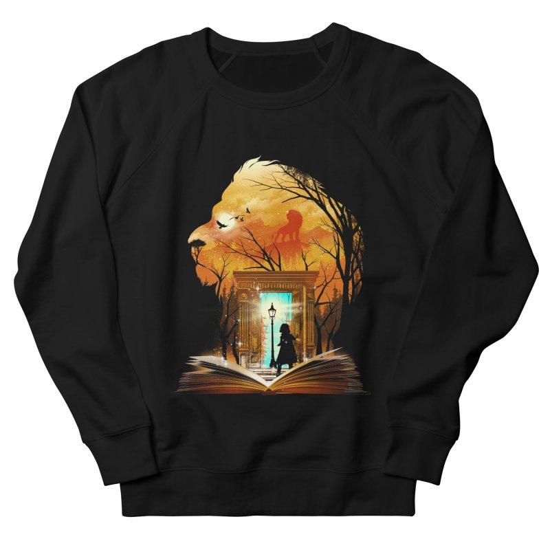 Courage Dear Heart Men's French Terry Sweatshirt by dandingeroz's Artist Shop