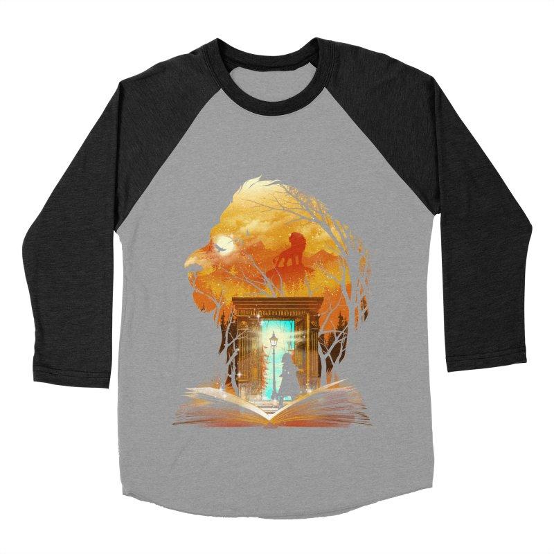 Courage Dear Heart Men's Baseball Triblend Longsleeve T-Shirt by dandingeroz's Artist Shop