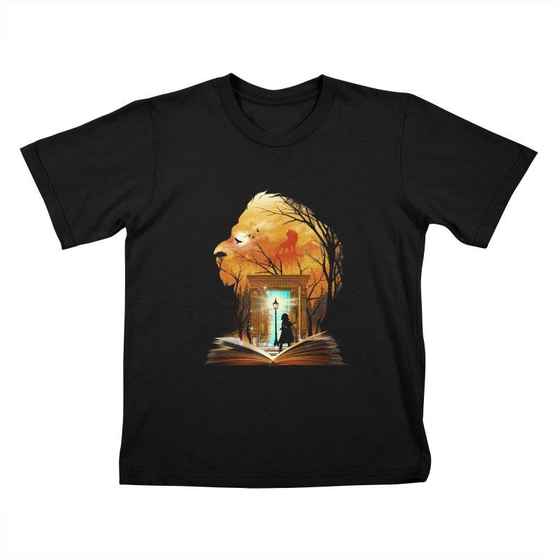 Courage Dear Heart Kids T-Shirt by dandingeroz's Artist Shop