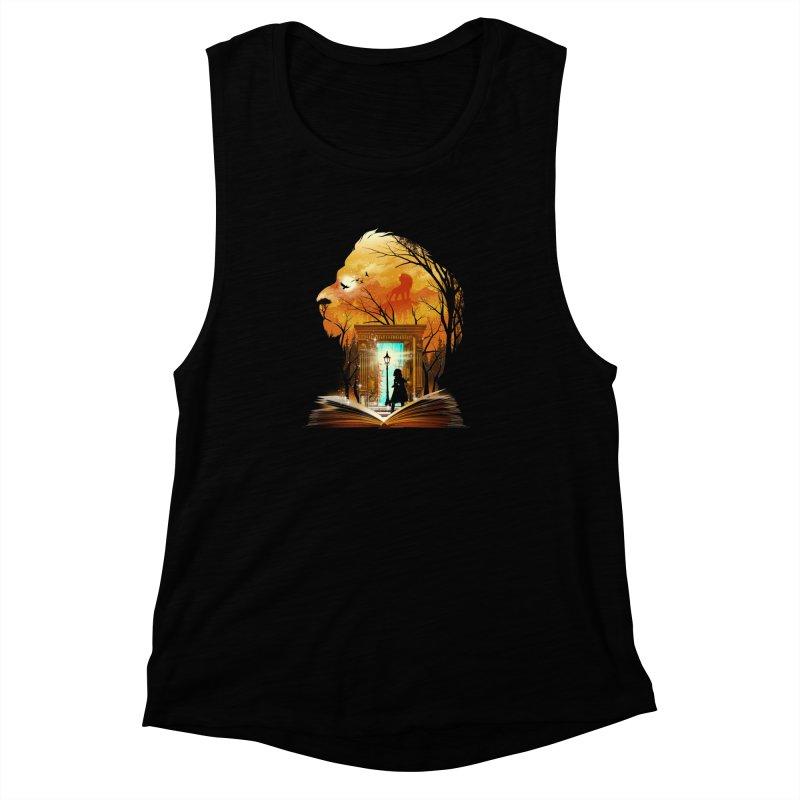 Courage Dear Heart Women's Muscle Tank by dandingeroz's Artist Shop