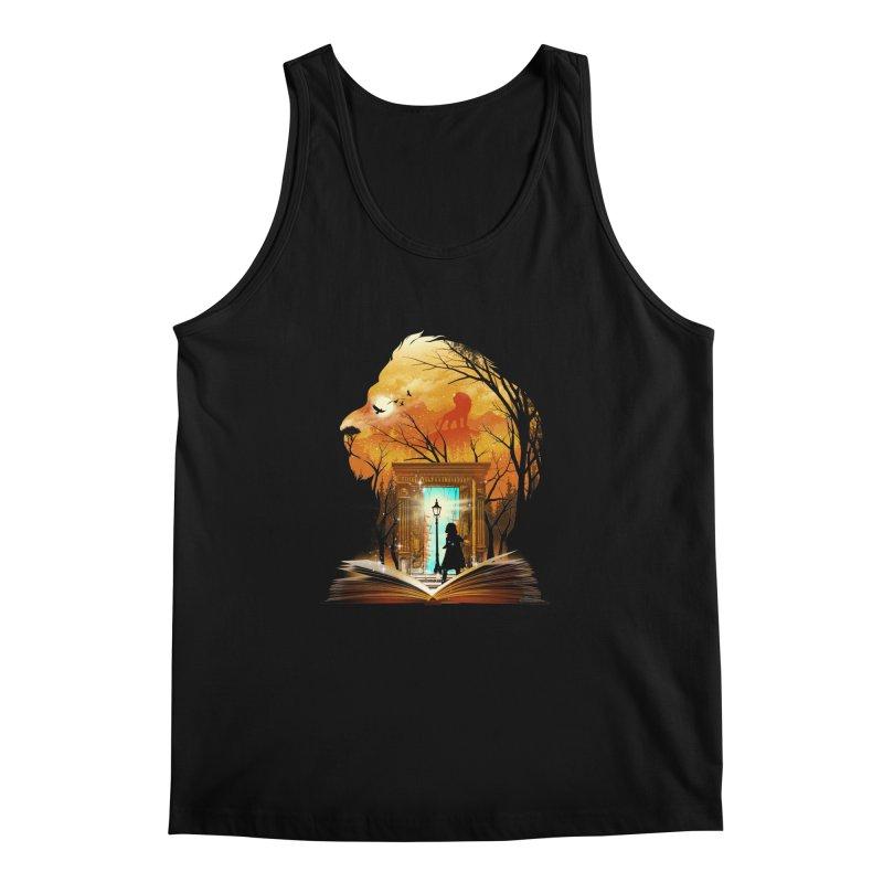Courage Dear Heart Men's Tank by dandingeroz's Artist Shop