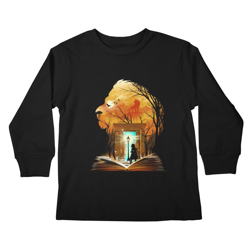 Courage Dear Heart Kids Longsleeve T-Shirt by dandingeroz's Artist Shop