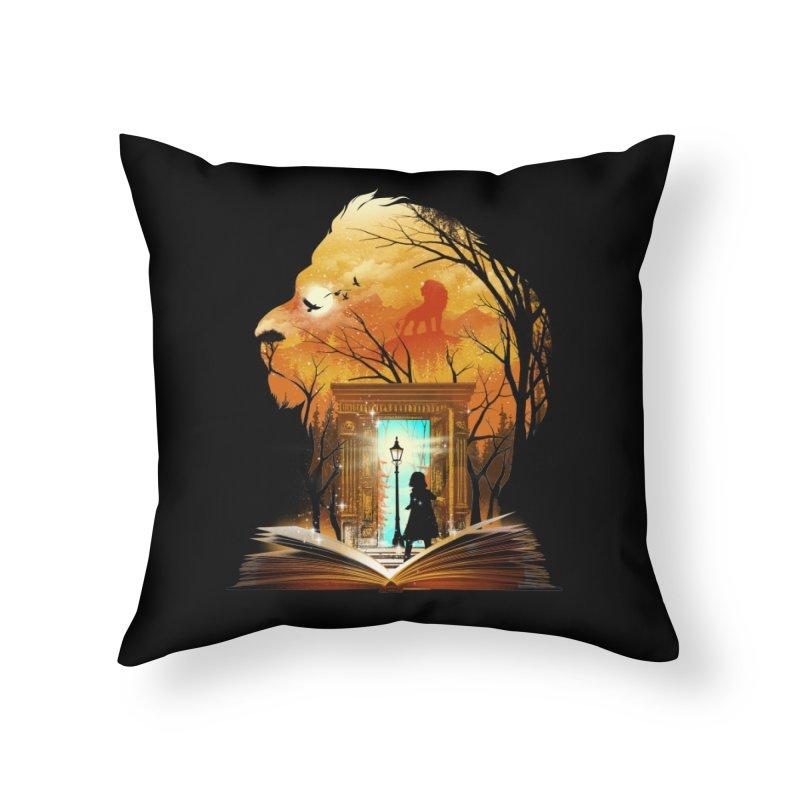 Courage Dear Heart Home Throw Pillow by dandingeroz's Artist Shop
