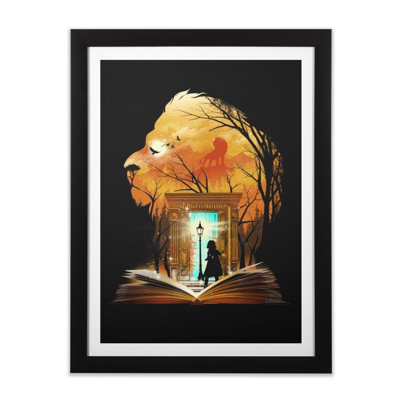 Courage Dear Heart Home Framed Fine Art Print by dandingeroz's Artist Shop
