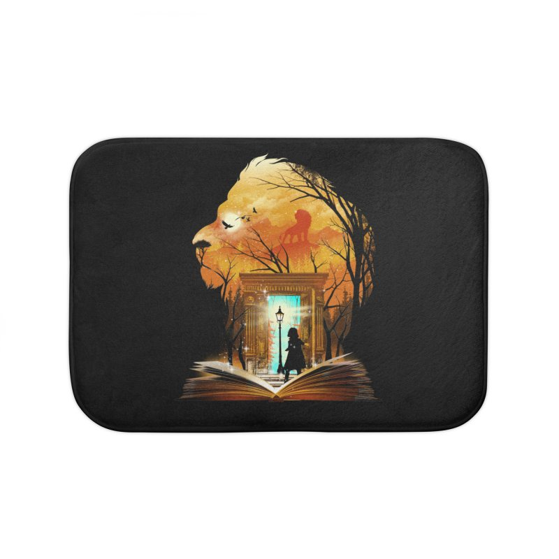 Courage Dear Heart Home Bath Mat by dandingeroz's Artist Shop