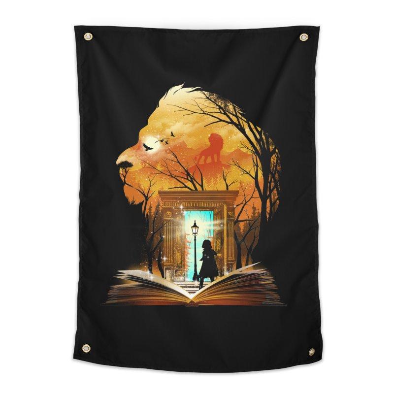 Courage Dear Heart Home Tapestry by dandingeroz's Artist Shop