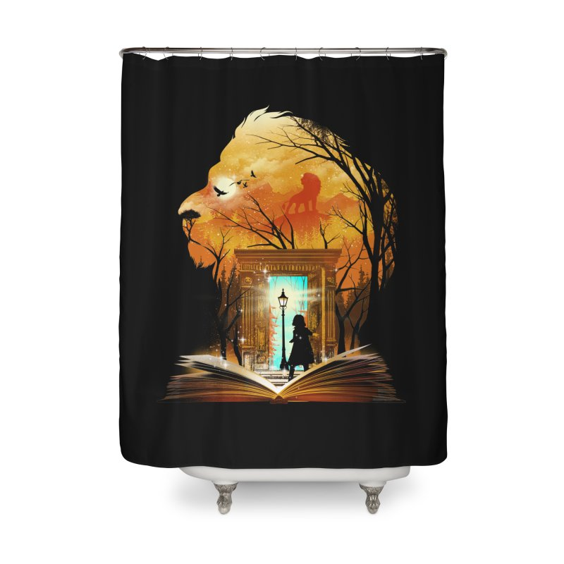Courage Dear Heart Home Shower Curtain by dandingeroz's Artist Shop
