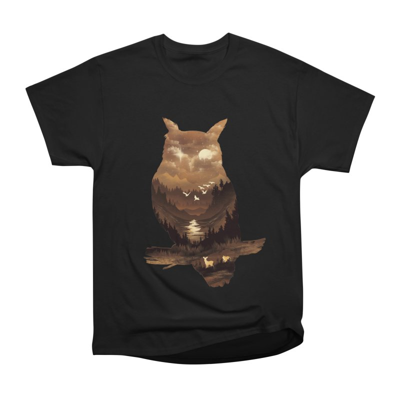 The Night Hunter Men's Heavyweight T-Shirt by dandingeroz's Artist Shop