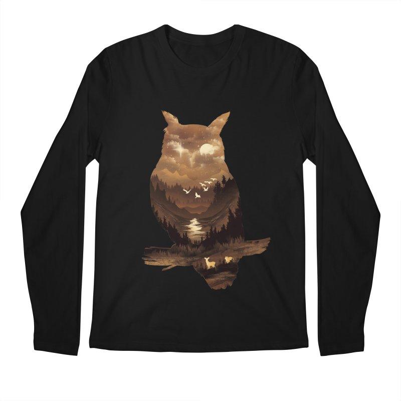 The Night Hunter Men's Longsleeve T-Shirt by dandingeroz's Artist Shop