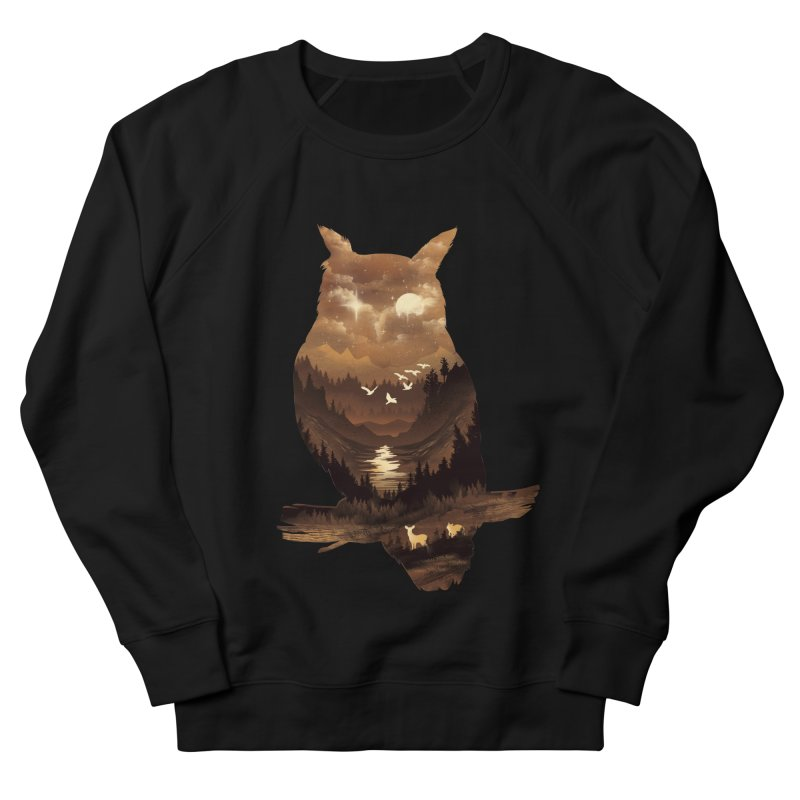 The Night Hunter Men's French Terry Sweatshirt by dandingeroz's Artist Shop