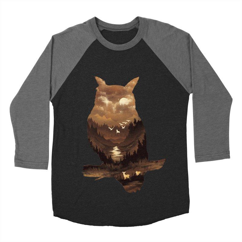 The Night Hunter Women's Baseball Triblend Longsleeve T-Shirt by dandingeroz's Artist Shop