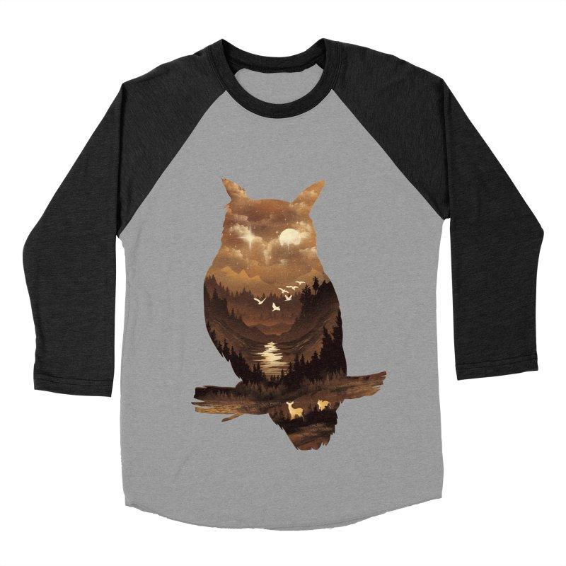 The Night Hunter Men's Baseball Triblend Longsleeve T-Shirt by dandingeroz's Artist Shop