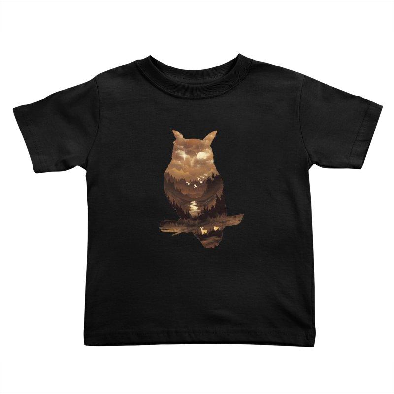 The Night Hunter Kids Toddler T-Shirt by dandingeroz's Artist Shop