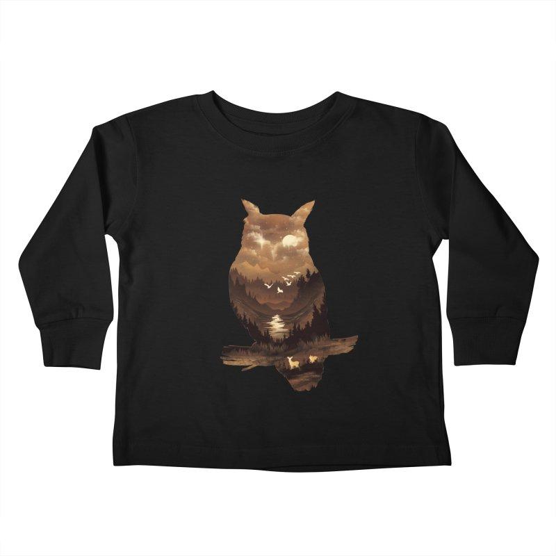 The Night Hunter Kids Toddler Longsleeve T-Shirt by dandingeroz's Artist Shop