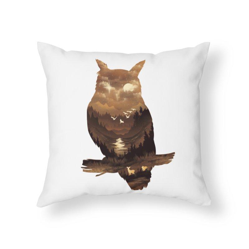 The Night Hunter Home Throw Pillow by dandingeroz's Artist Shop