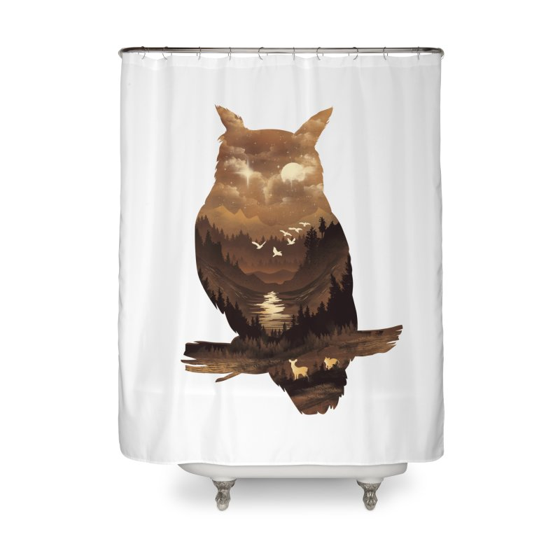 The Night Hunter Home Shower Curtain by dandingeroz's Artist Shop