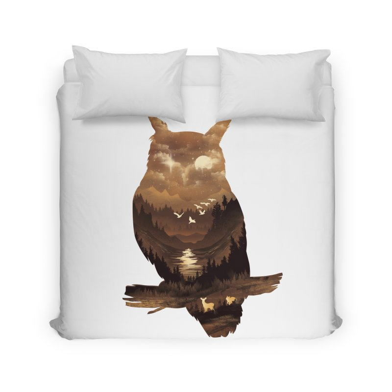 The Night Hunter Home Duvet by dandingeroz's Artist Shop