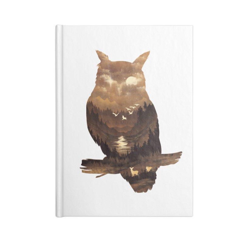 The Night Hunter Accessories Notebook by dandingeroz's Artist Shop
