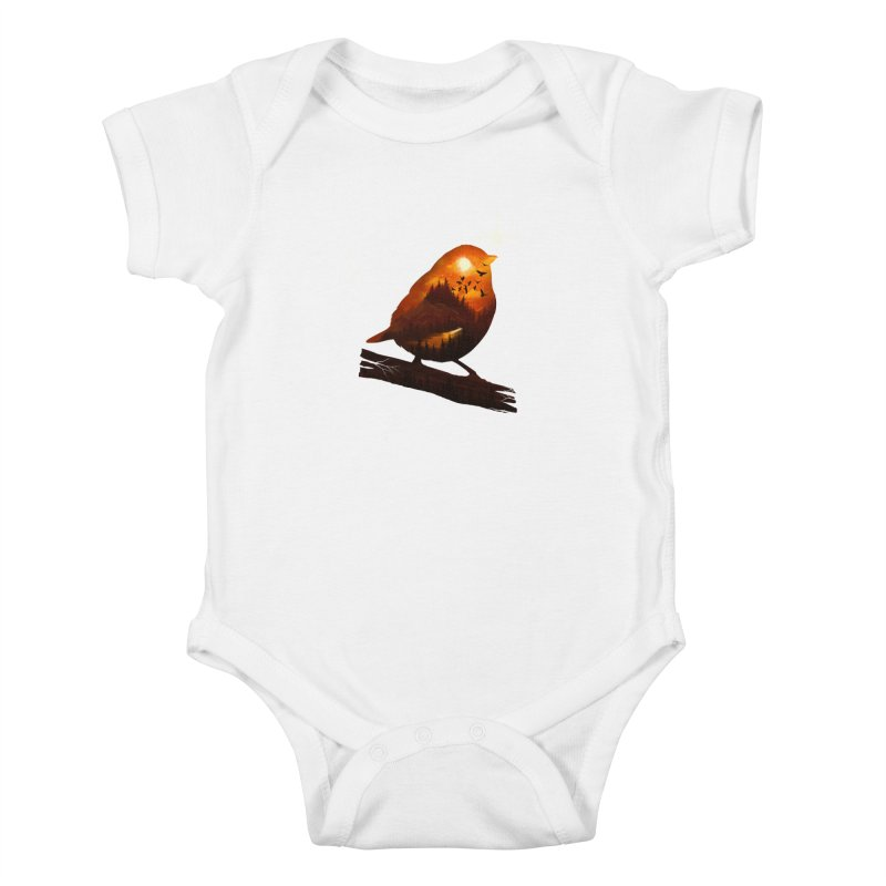 Dream big Kids Baby Bodysuit by dandingeroz's Artist Shop