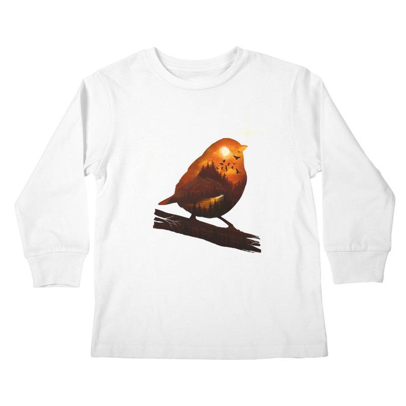 Dream big Kids Longsleeve T-Shirt by dandingeroz's Artist Shop