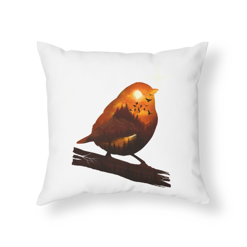 Dream big Home Throw Pillow by dandingeroz's Artist Shop