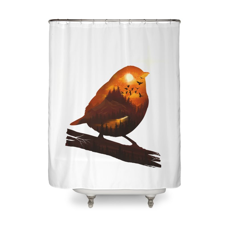 Dream big Home Shower Curtain by dandingeroz's Artist Shop