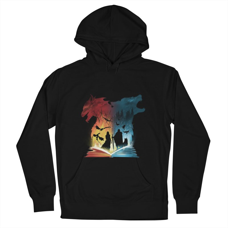 Book of Fire and Ice Men's Pullover Hoody by dandingeroz's Artist Shop