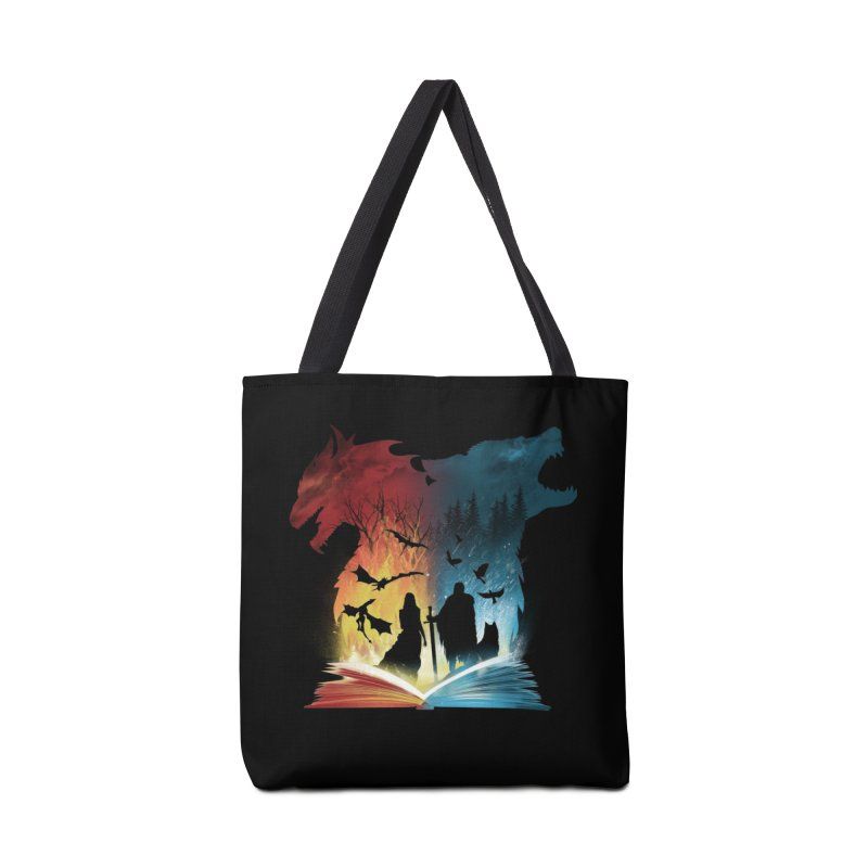 Book of Fire and Ice Accessories Bag by dandingeroz's Artist Shop