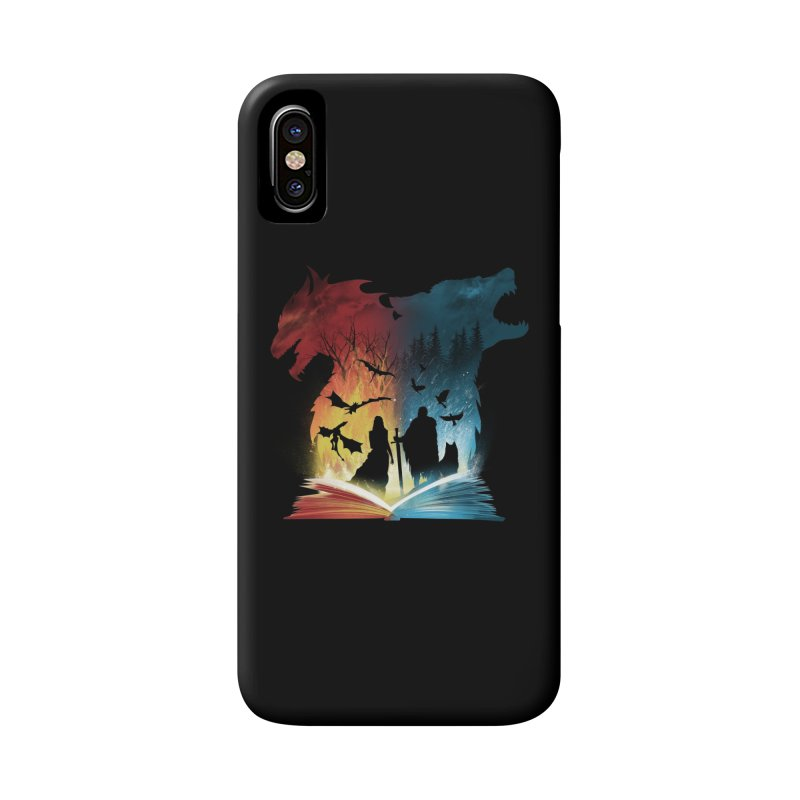 Book of Fire and Ice Accessories Phone Case by dandingeroz's Artist Shop