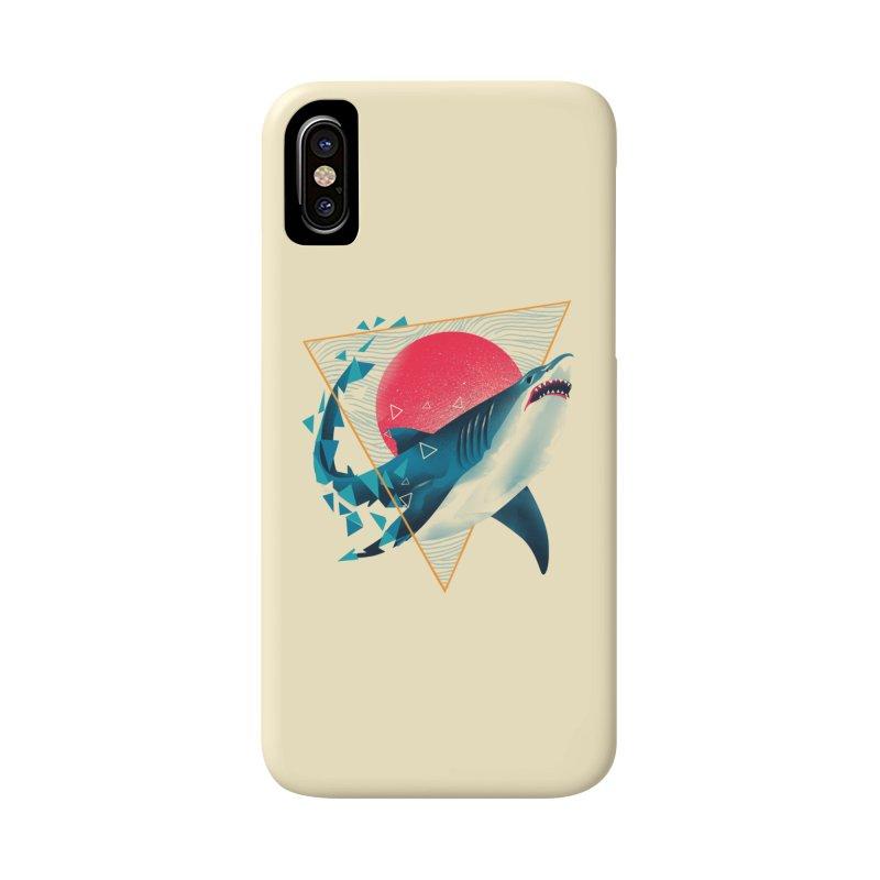 Geometric Shark Accessories Phone Case by dandingeroz's Artist Shop