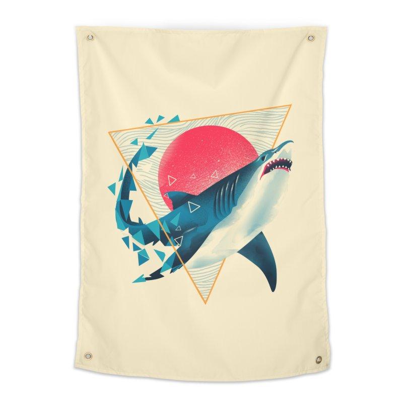 Geometric Shark Home Tapestry by dandingeroz's Artist Shop