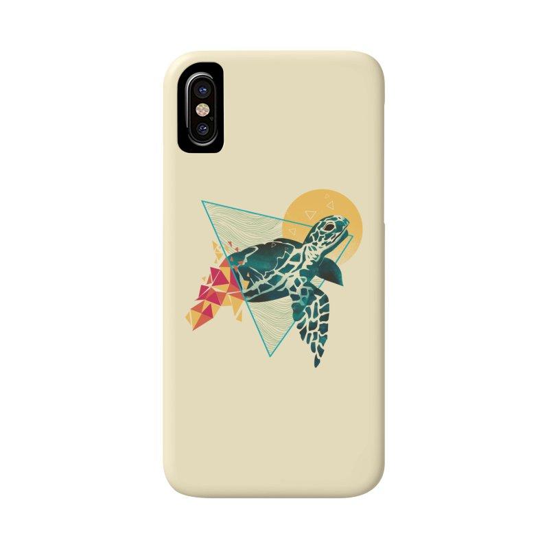 Geometric Turtle Accessories Phone Case by dandingeroz's Artist Shop