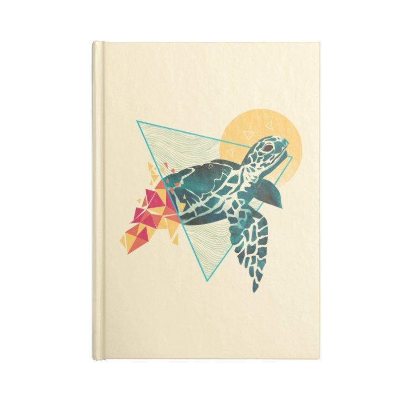 Geometric Turtle Accessories Notebook by dandingeroz's Artist Shop