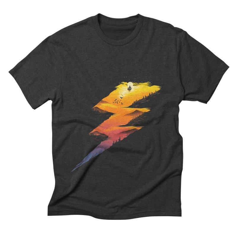 Beautiful Thunder Men's Triblend T-Shirt by dandingeroz's Artist Shop