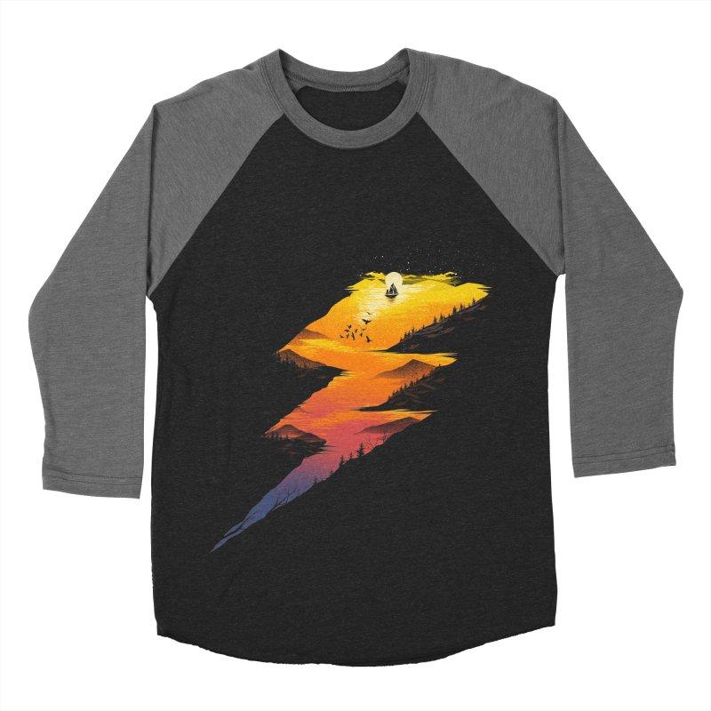 Beautiful Thunder Women's Baseball Triblend Longsleeve T-Shirt by dandingeroz's Artist Shop